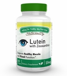 Lutein - High Potency 20mg (Soy-Free & NON-GMO) (60 Softgels as Lutemax® 2020)