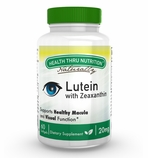 Lutein - High Potency 20mg (60 Softgels as Lutemax� 2020) (Soy-Free & NON-GMO)