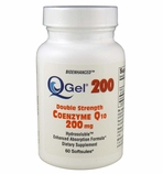 Q-Gel 200mg Double Strength Hydrosoluble CoQ10 (60 Softgels)