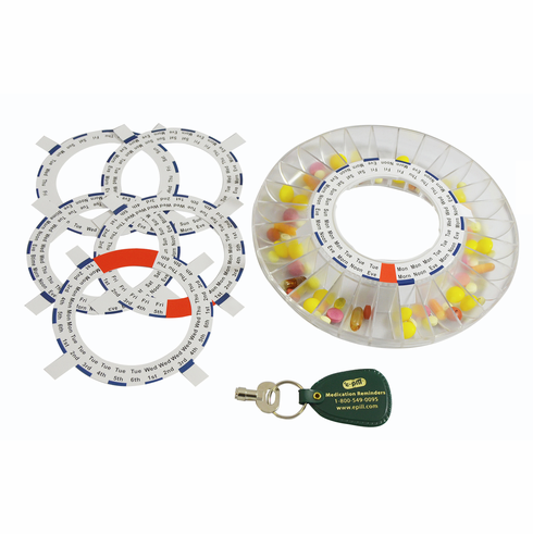 Accessory Kit for<br>e-pill MedTime STATION<br>e-pill MedTime SAFE<br>Automatic Pill Dispenser