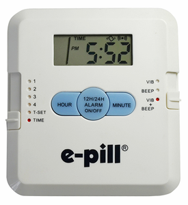 e-pill 4 Alarm Pocket Pill Box Set-Up Video