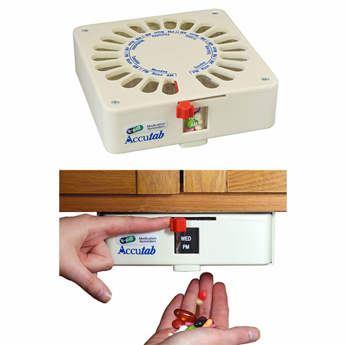 e-pill Accutab Weekly Pill Dispenser