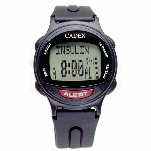 e-pill CADEX 12 Alarm Watch - Black