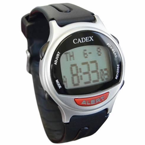 CADEX 12 Alarm Watch<br>Silver(<i>Refurbished</i>)