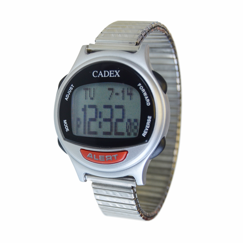 e-pill CADEX 12 Alarm Watch with<br> Expansion Band