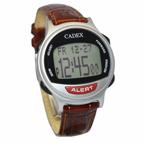 e-pill CADEX 12 Alarm Watch<br> with Leather Band
