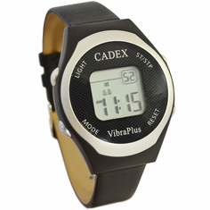 CADEX VibraPlus - 8 Alarm <br>Vibrating Reminder Watch