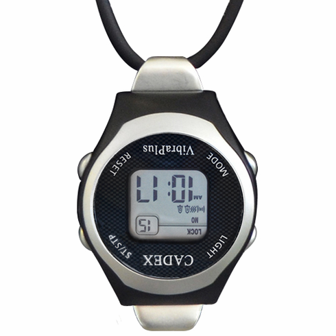 e-pill CADEX VibraPlus Fob Pendant -<br>Vibrating Digital Alarm Watch