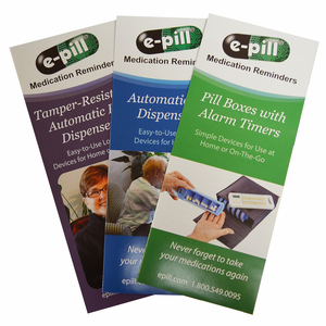 e-pill Medication Reminders Digital Catalog Brochures (pdf)