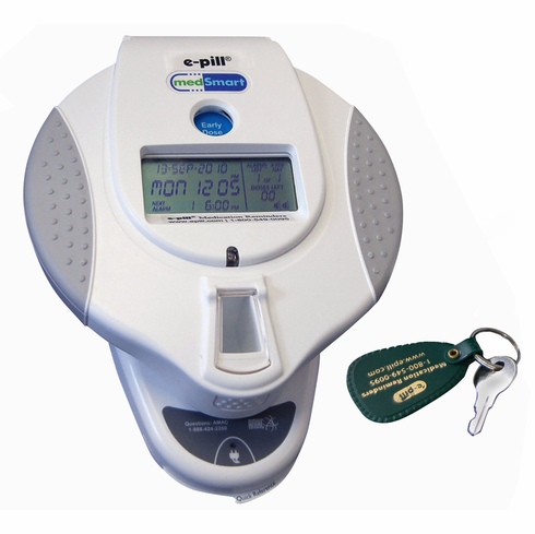 e-pill MedSmart<br>Automatic Pill Dispenser<br>with Patient Compliance Dashboard