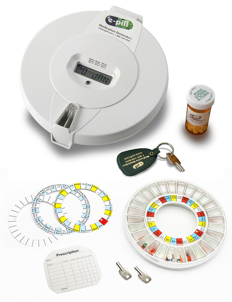 Automatic Pill Dispenser for Home
