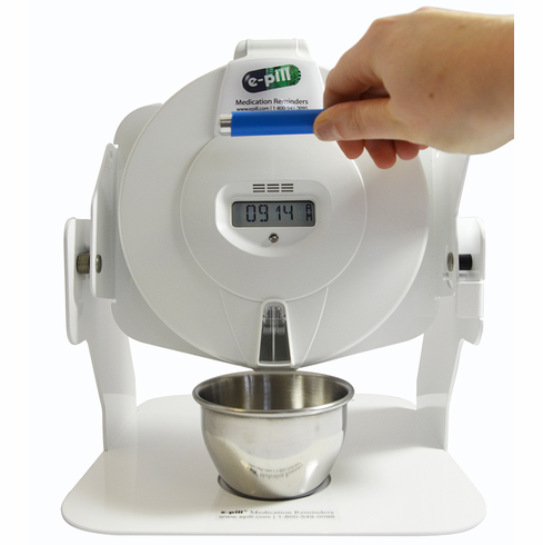 e-pill MedTime STATION PLUS<br>Automatic Pill Dispenser<br>Patient Compliance Dashboard