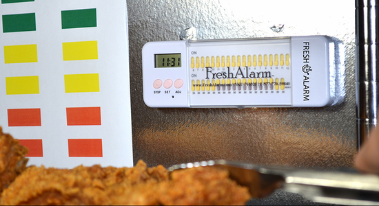 Food Timer: 30 Minute Alarm Timer No Reset Required