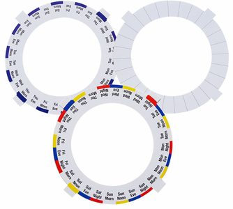 free med time dosage rings to print