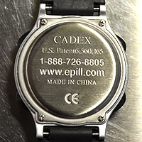 How To Change the Battery on an e-pill CADEX 12 Alart ALERT Watch