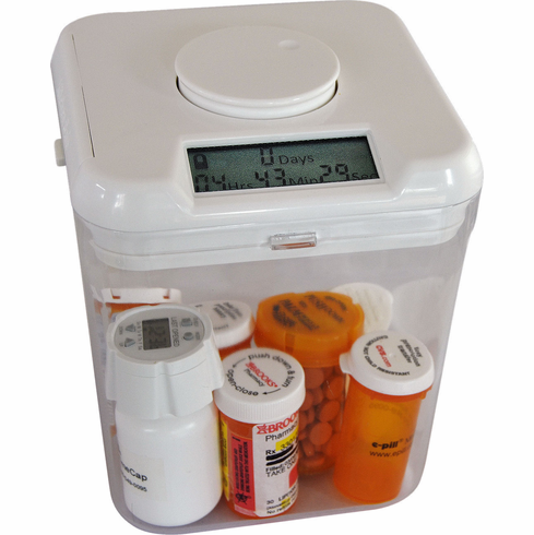 Kitchen Pill Safe - Tamper Resistant <br>Medication Storage