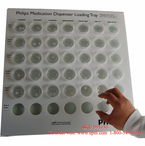 MD.2 / Philips Medication Dispenser<br>Medication Loading Tray