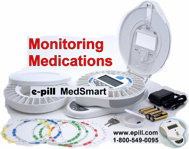 Log-In Care-Givers / Users of e-pill MedSmart PLUS SKU 994019