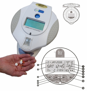 "e-pill MedSmart with ""Patient Compliance Dashboard™"""