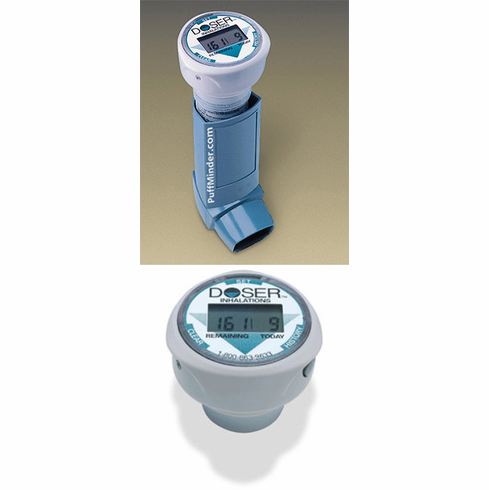 PuffMinder DOSER - Inhaler Counter/ MDI Usage Monitor