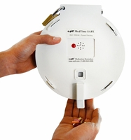 Tamper Resistant Automatic Pill Dispenser 6 Alarms Four Independent Locks (No Monthly Fees)