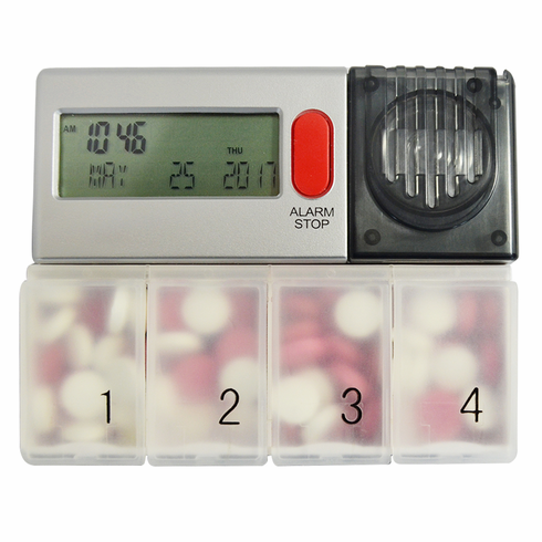 Timex Medication Manager with 6 Daily Alarms