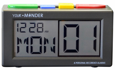 MedCenter Alarm Clock - Up to 6 Daily Alarms