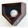 1 Baseball Home Plate Shaped Display Case Locking Cabinet Holders Rack w/ UV Protection<br>4 WOOD COLORS!