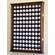 108 Golf Ball Display Case Cabinet Holder Wall Rack w/ UV Protection<br>4 WOOD COLORS!