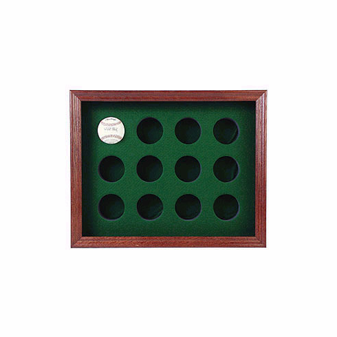 12 Ball Rectangle Shaped Display