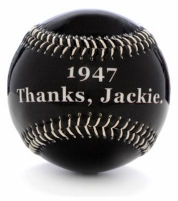 1947 Thanks Jackie Gloss Baseball<br>ONLY 3 LEFT!