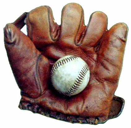 "2.5"" Ball in Glove Magnet"