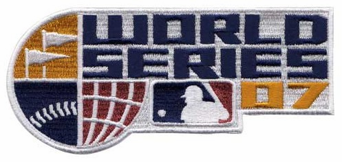 2007 World Series Logo Patch