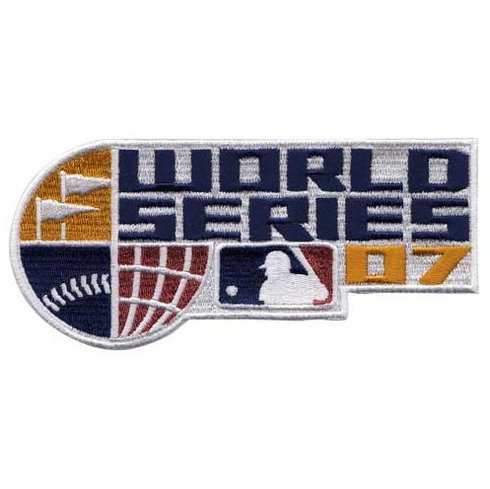 2007 World Series Logo Patch<br>ONLY 1 LEFT!