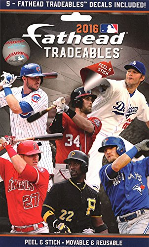 WEEKLY SPECIAL #1<br>2016 MLB Pack of 5 Fathead Tradeables<br>LESS THAN 12 LEFT!