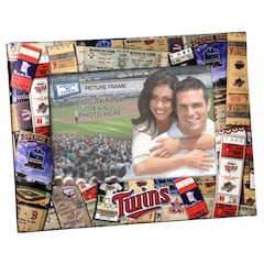 Minnesota Twins Ticket Collage 4x6 Photo Frame<br>ONLY 2 LEFT!