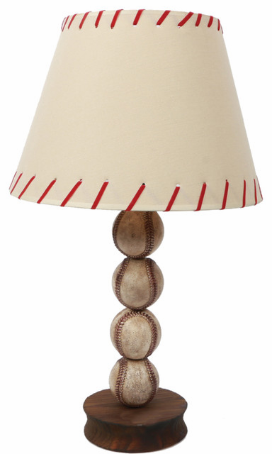 4 Baseball Table Lamp