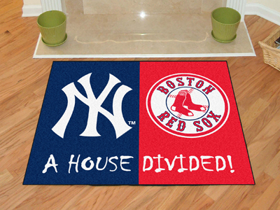 A House Divided 34x45 Mat<br>Yankees / Red Sox