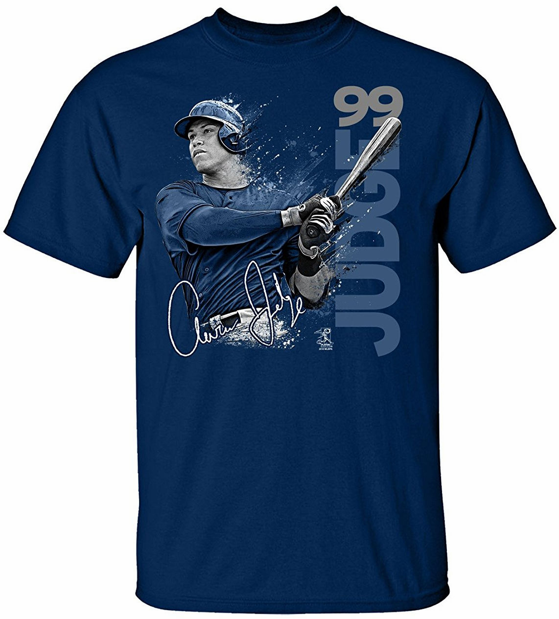 Aaron Judge New York Paint Splash T-Shirt<br>Short or Long Sleeve<br>Youth Med to Adult 4X