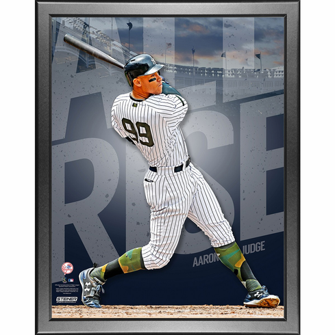 Aaron Judge New York Yankees Framed ALL RISE 11x14 Photo