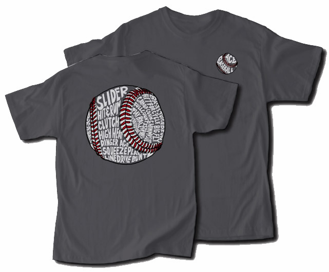 Ace Baseball T-Shirt<br>2 COLORS!<br>Youth Med to Adult 3X