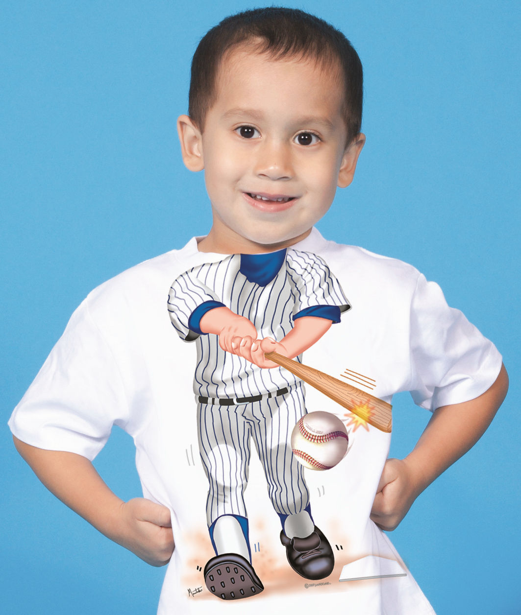 Add a Kid Baseball Batter Tees and Onesies
