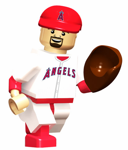 Albert Pujols LA Angels of Anaheim OYO Mini Figure