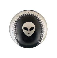 Alien and Spaceship Baseball
