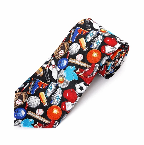 All Sports Men's Polyester Tie<br>ONLY 2 LEFT<br>CRAZY 8 SPECIAL!