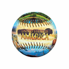 America Natural Wonders Baseball