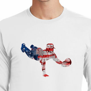 b401d2ade19 America s Pastime Baseball Fielder T-Shirt br Choose Your Color br