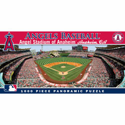 Angel Stadium of Anaheim - Anaheim Angels 1000pc Panoramic Puzzle<br>ONLY 4 LEFT!