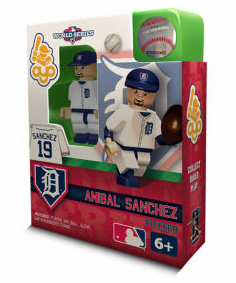 Anibal Sanchez Detroit Tigers 2012 World Series OYO Mini Figure