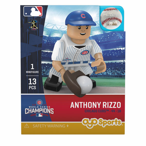 Anthony Rizzo Chicago Cubs 2016 World Series Champions OYO Mini Figure<br>ONLY 2 LEFT!